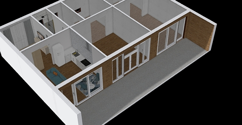 Promoción Cádiz - Tarifa Interior Design Render