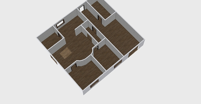 Дома_0345 Interior Design Render