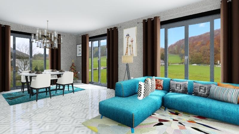 Type B 1.1 Interior Design Render
