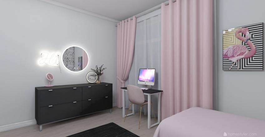 комната для близняшек Interior Design Render