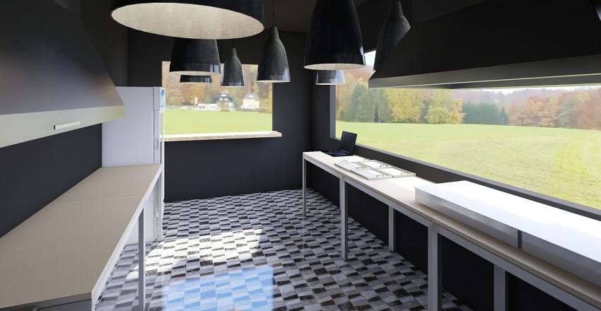 caca стол касса Interior Design Render