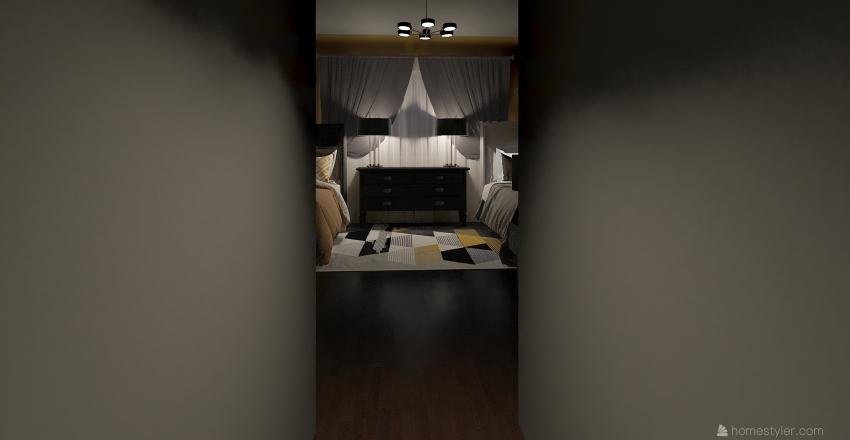 dorm room 5 Interior Design Render