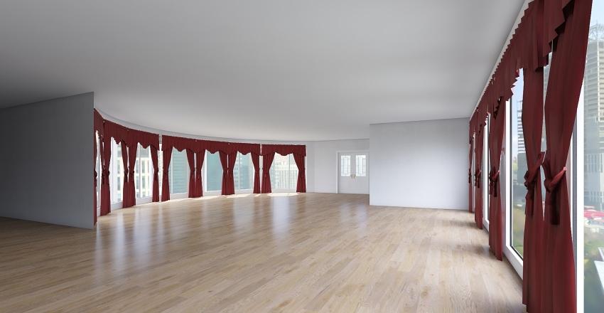 restaraunt posh Interior Design Render
