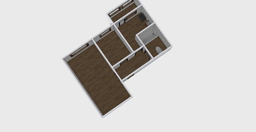 2-комн_0341 Interior Design Render