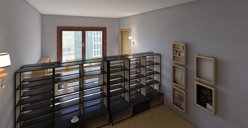 School-styler Interior Design Render