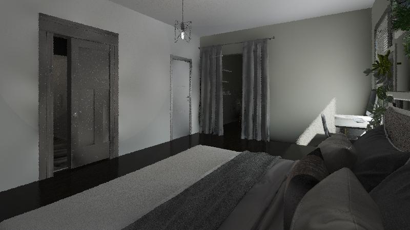 modern flat Interior Design Render