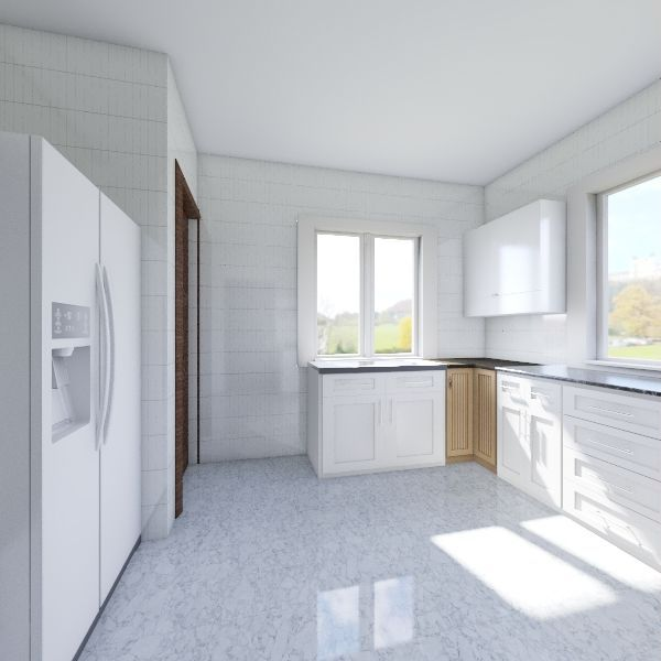 OKUN AJAH KITCHEN Interior Design Render