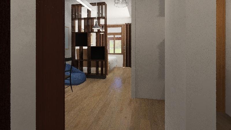 лаконичность Interior Design Render