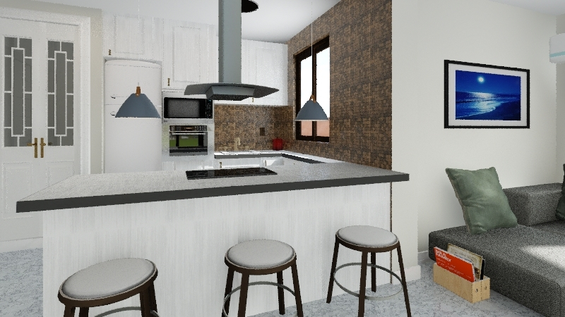piso 2 Interior Design Render