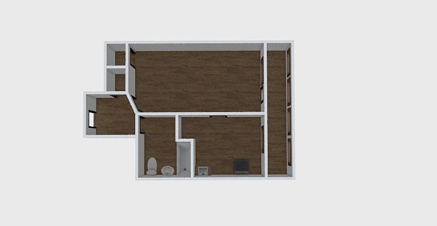 1-комн_0364 Interior Design Render