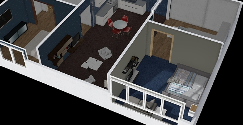 перший Interior Design Render