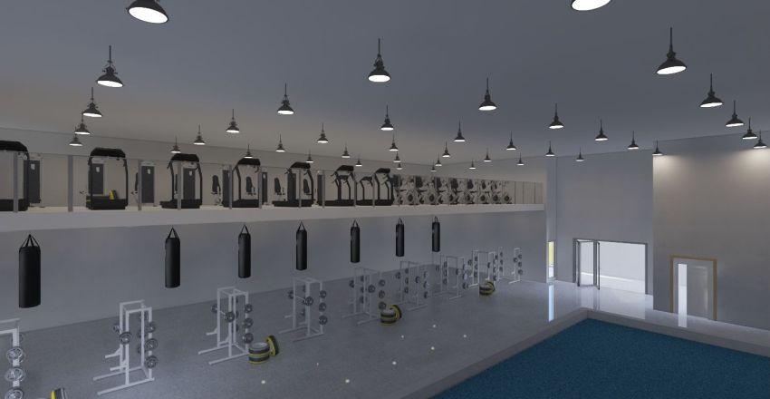 Swimming pool_3 Interior Design Render