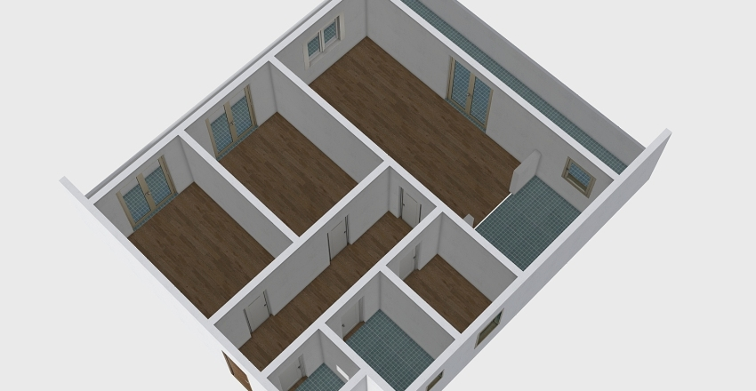47557. Interior Design Render
