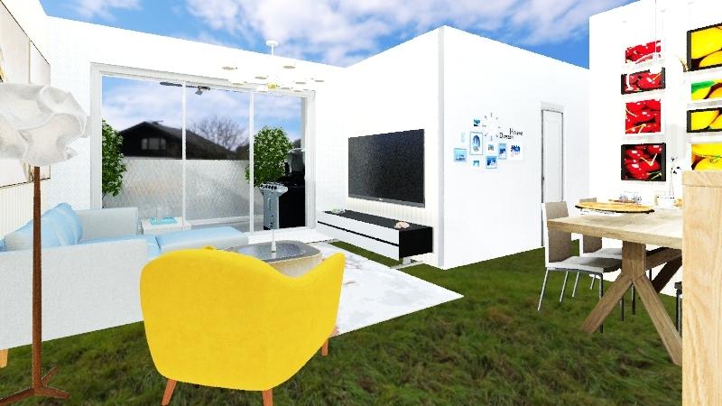Aparts Interior Design Render