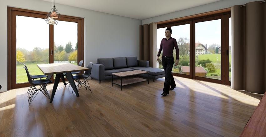 Dom w kostrzewach 4g ver 1 Interior Design Render