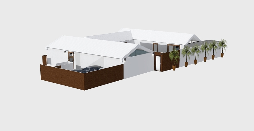 Full House OG2 Roof Interior Design Render