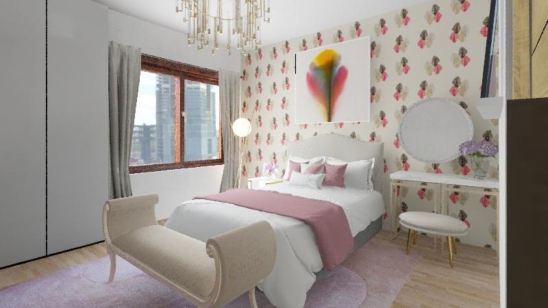 Apartamento de luxo Interior Design Render