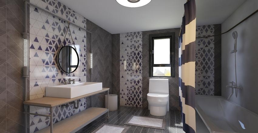 Modern Designed Apartment Interior Design Render