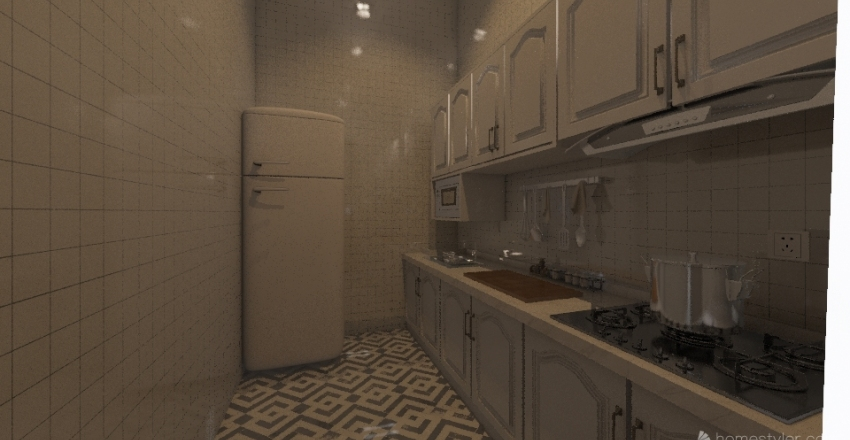 fanny colonial1 Interior Design Render