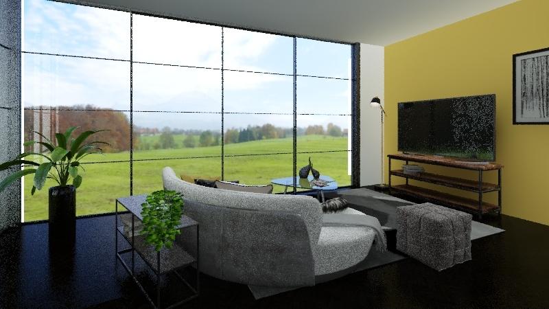 projet /1 Interior Design Render