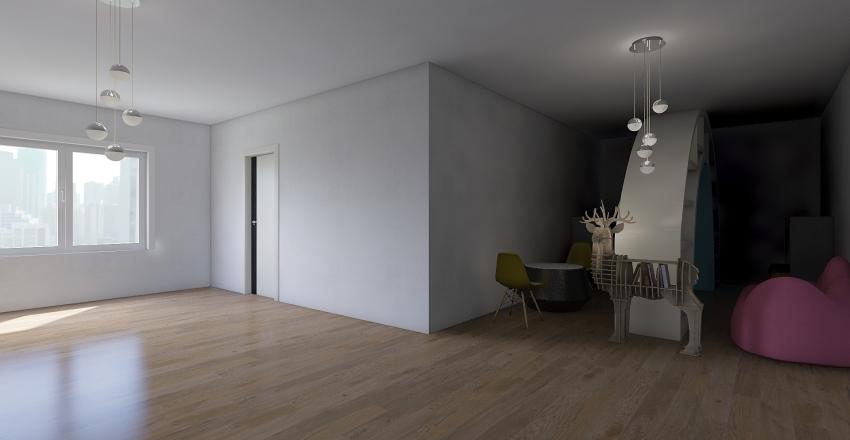school project Interior Design Render