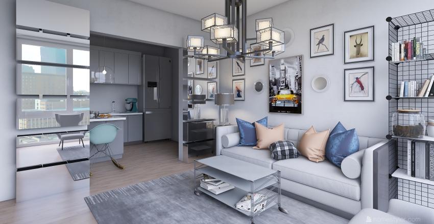 apartment 20 Interior Design Render