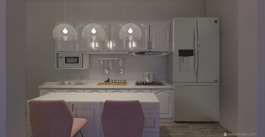 apartment 19 Interior Design Render