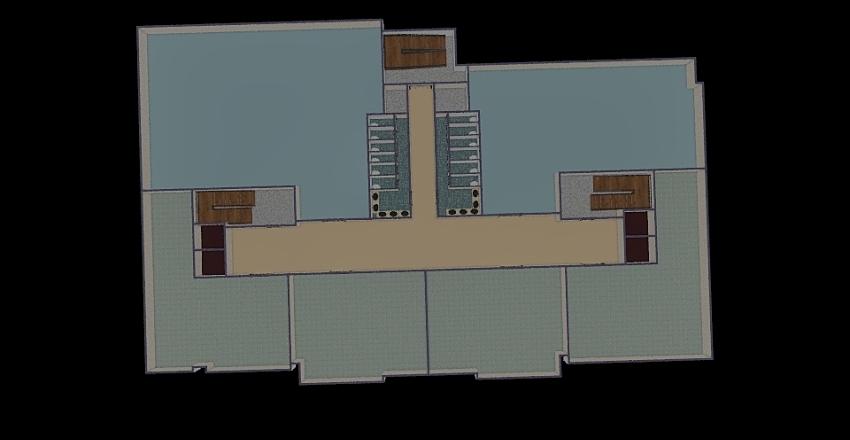 vanphong26x42m2 Interior Design Render
