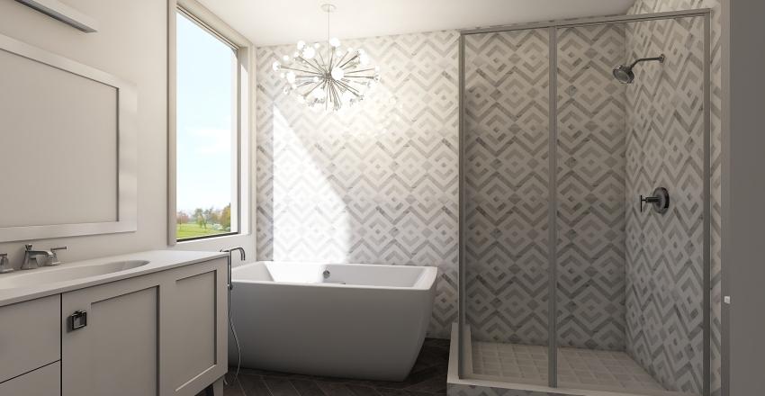 Mary Bathroom Interior Design Render