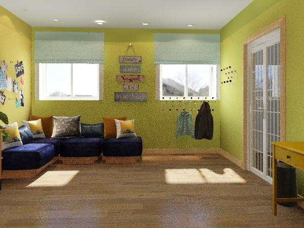 Детский центр благотворительный фонд Interior Design Render