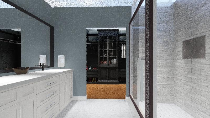 Mark and Scarlet Bathroom Interior Design Render