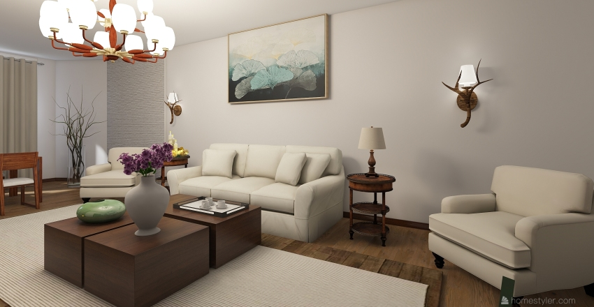 квартира4 Interior Design Render