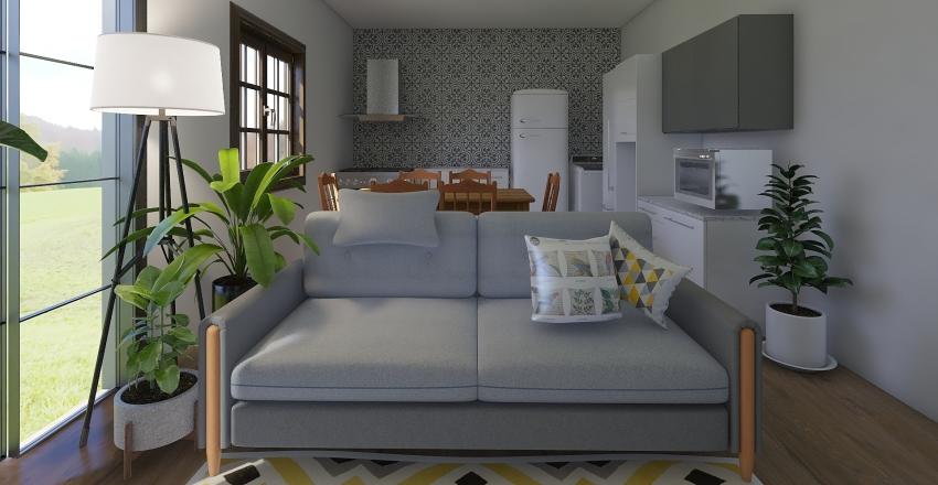 Casa Reforma Julho Interior Design Render
