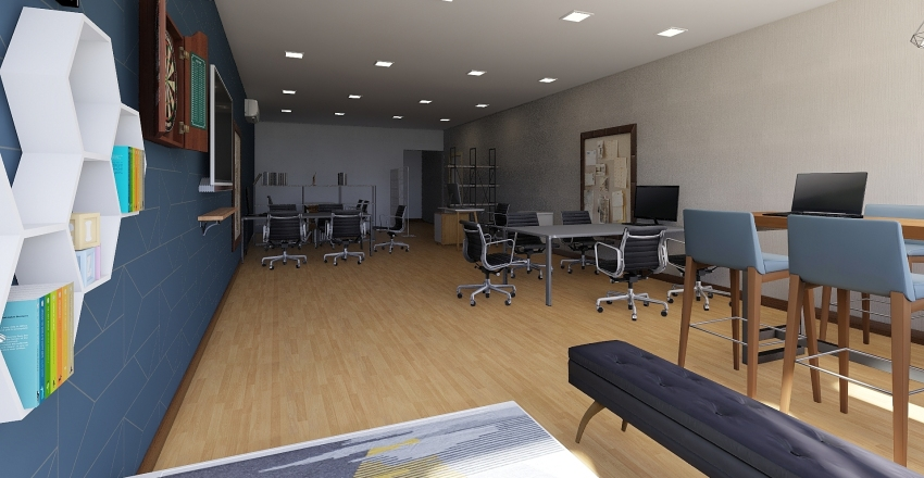 AGI (Lt. 4 Graha GML) Interior Design Render