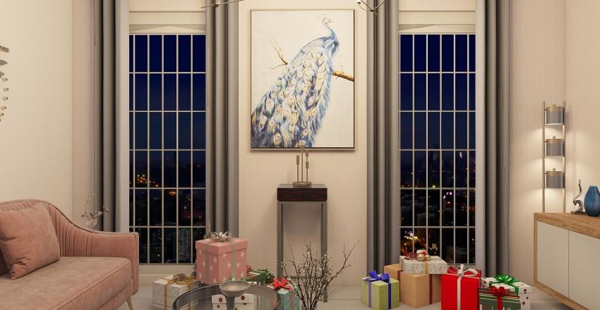 new year Interior Design Render
