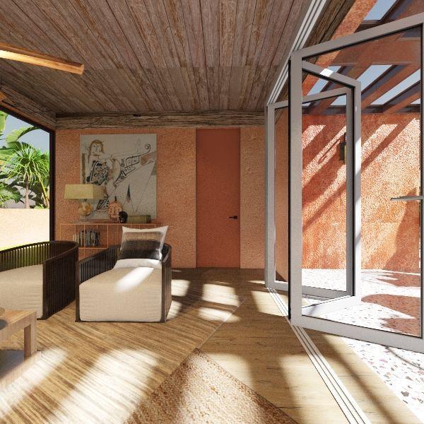 mexico Interior Design Render