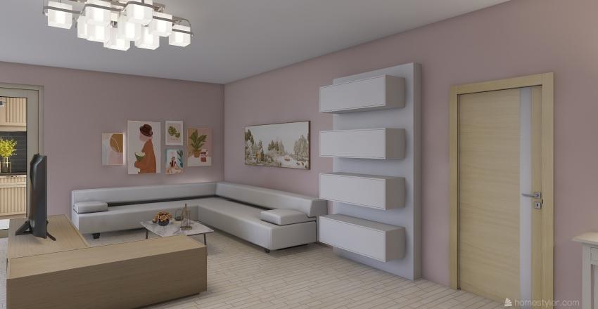 In Her 20's Interior Design Render