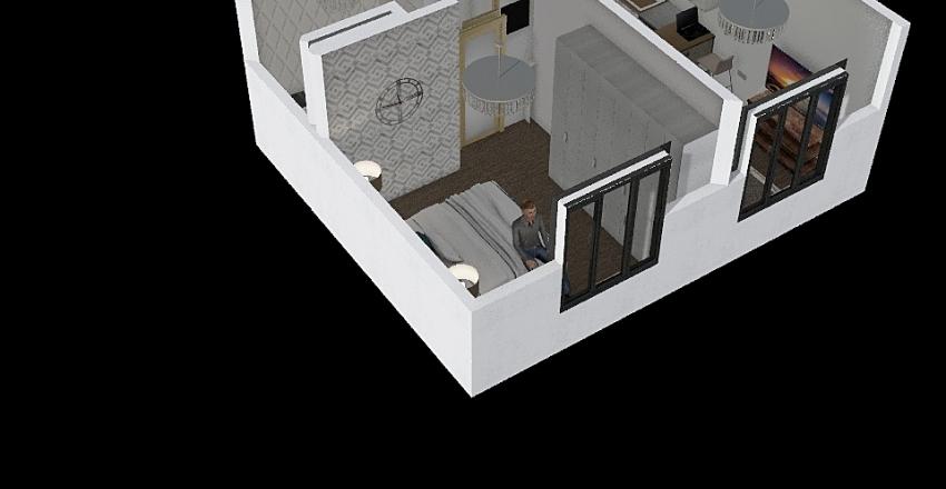 SKIERNIEWICKA Interior Design Render