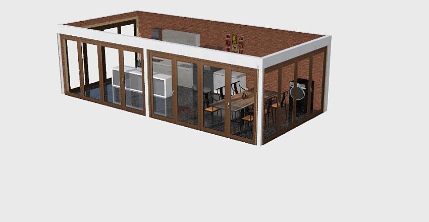 Air Kitchen Interior Design Render