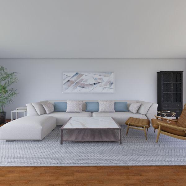Living Room Draft 01 Interior Design Render