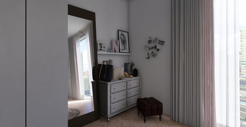 Cute apartment Interior Design Render