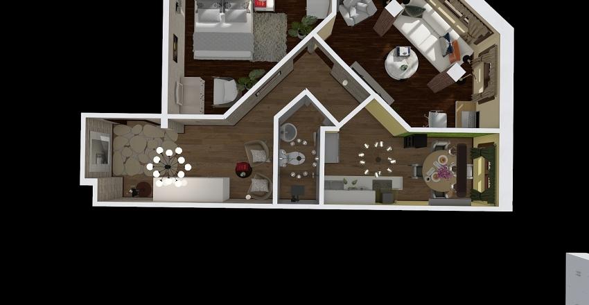 квартира№2 Interior Design Render