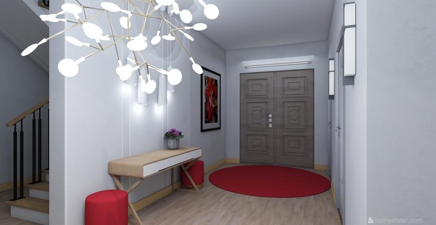 Квартира в чистовом Interior Design Render