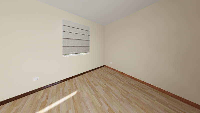 Recording Room, bare bones Interior Design Render