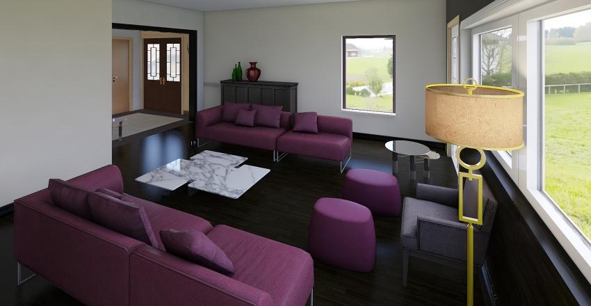 Manoir 01 Interior Design Render