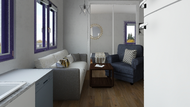 Jurata Sylwia 3 Interior Design Render