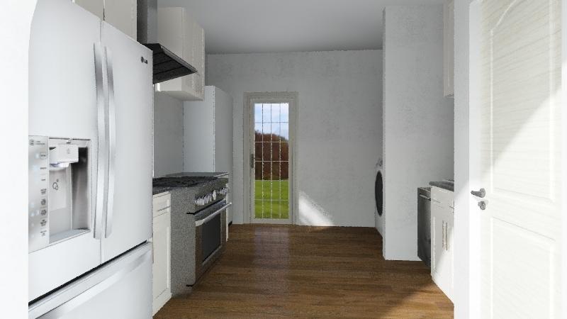 Kitchen Redesign Interior Design Render