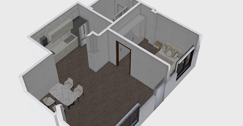 Loft Río Guadajoz diseño Interior Design Render