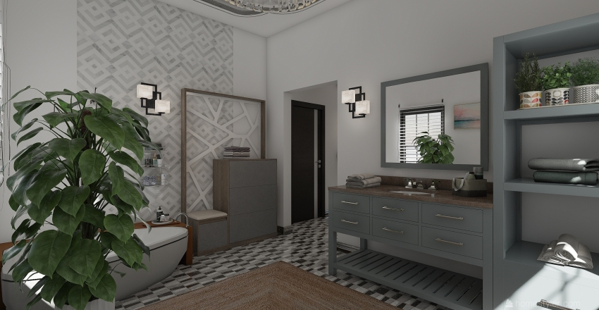 Sakura Interior Design Render