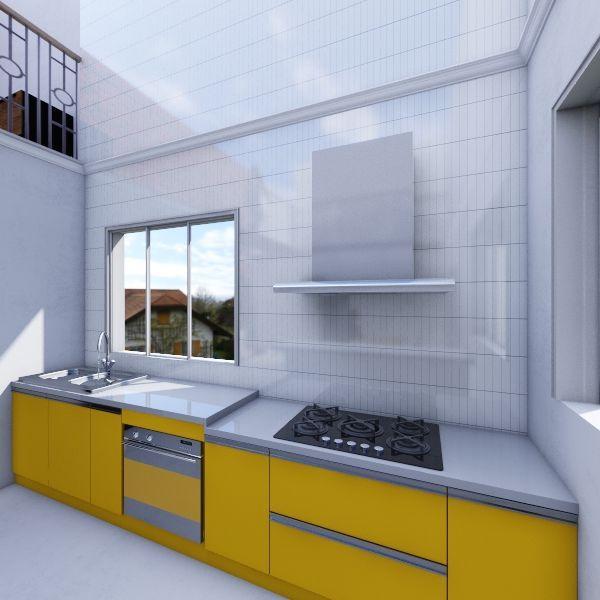 Casa Jane e Jack Jabó Interior Design Render